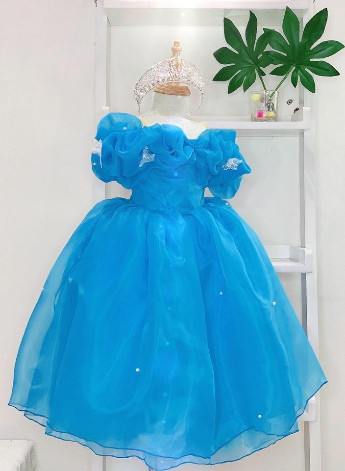 Đầm Công chúa CINDERELLA - Đầm xinh cho bé gái- Đầm công chúa