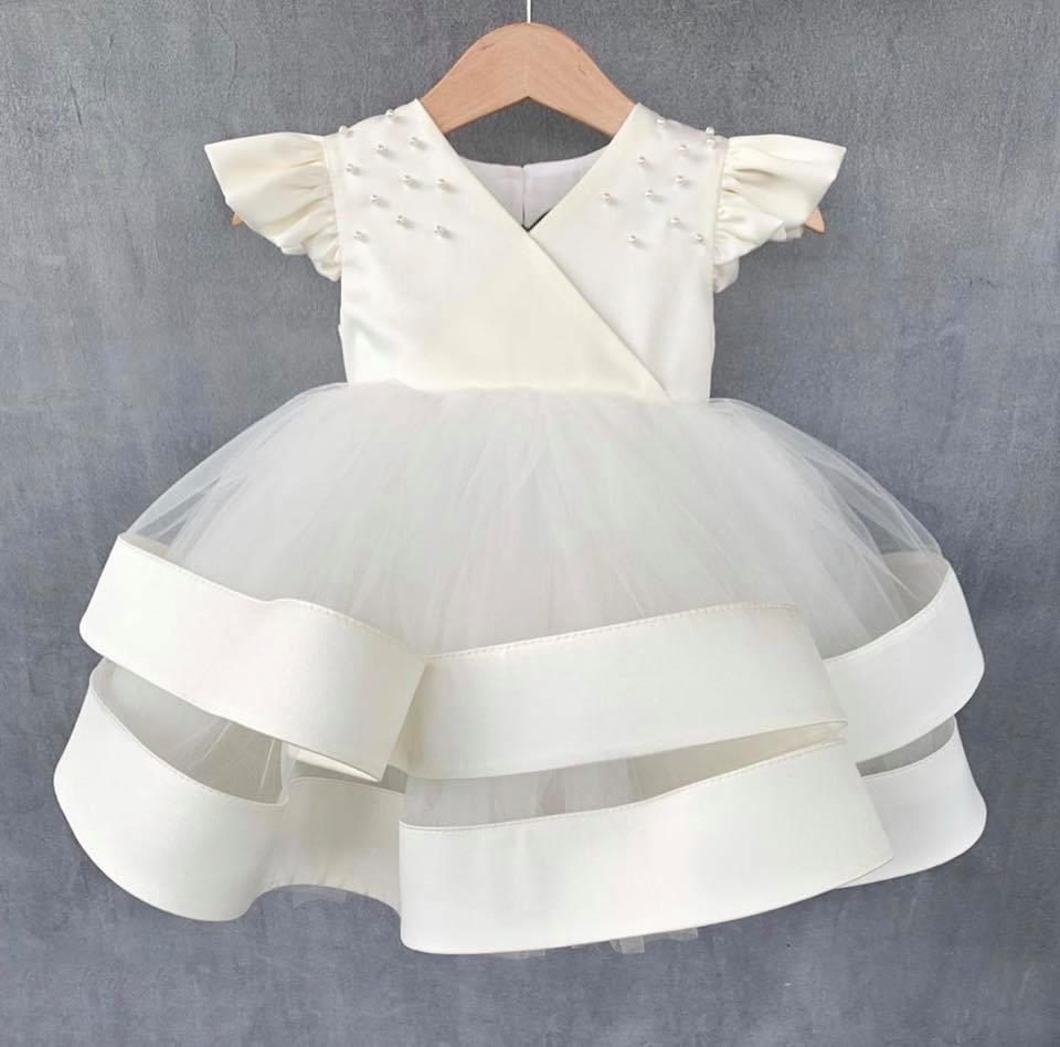 Đầm công chúa bé gái - Đầm hở lưng cho bé - Đầm dạ hội sang chảnh