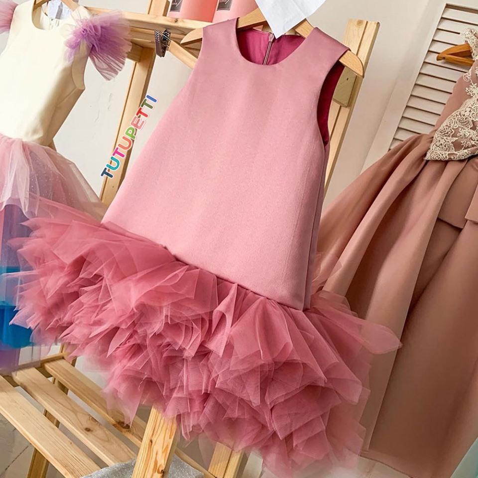 Đầm suông siêu xinh cho bé- Đầm không tay