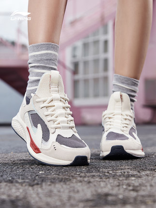 Giày Li Ning nữ - giày thường - giày vải nữ - giày nữ cổ điển cổ thấp